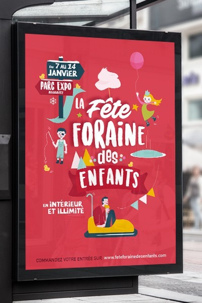 Fête foraine à Toulouse