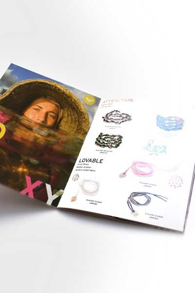 Brochure Roxy par Birds communication