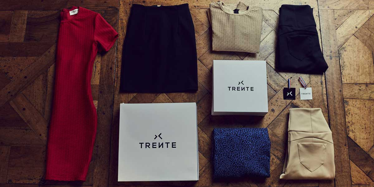 Collection Trente mise en situation