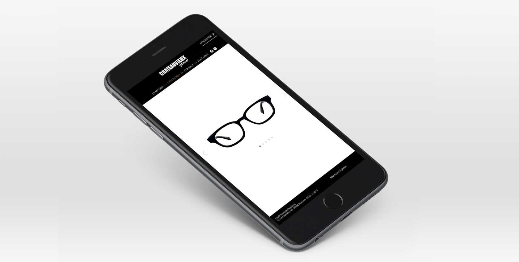 Utilisation web mobile opticiens