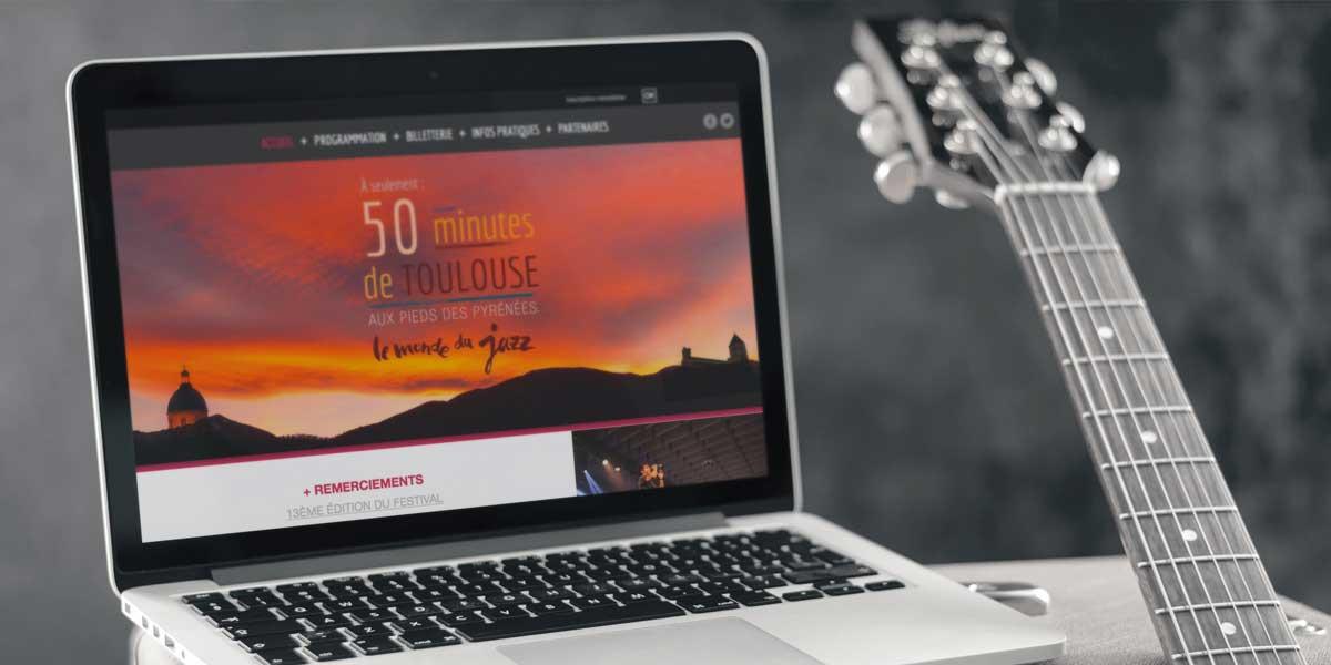 Webdesign jazz concert