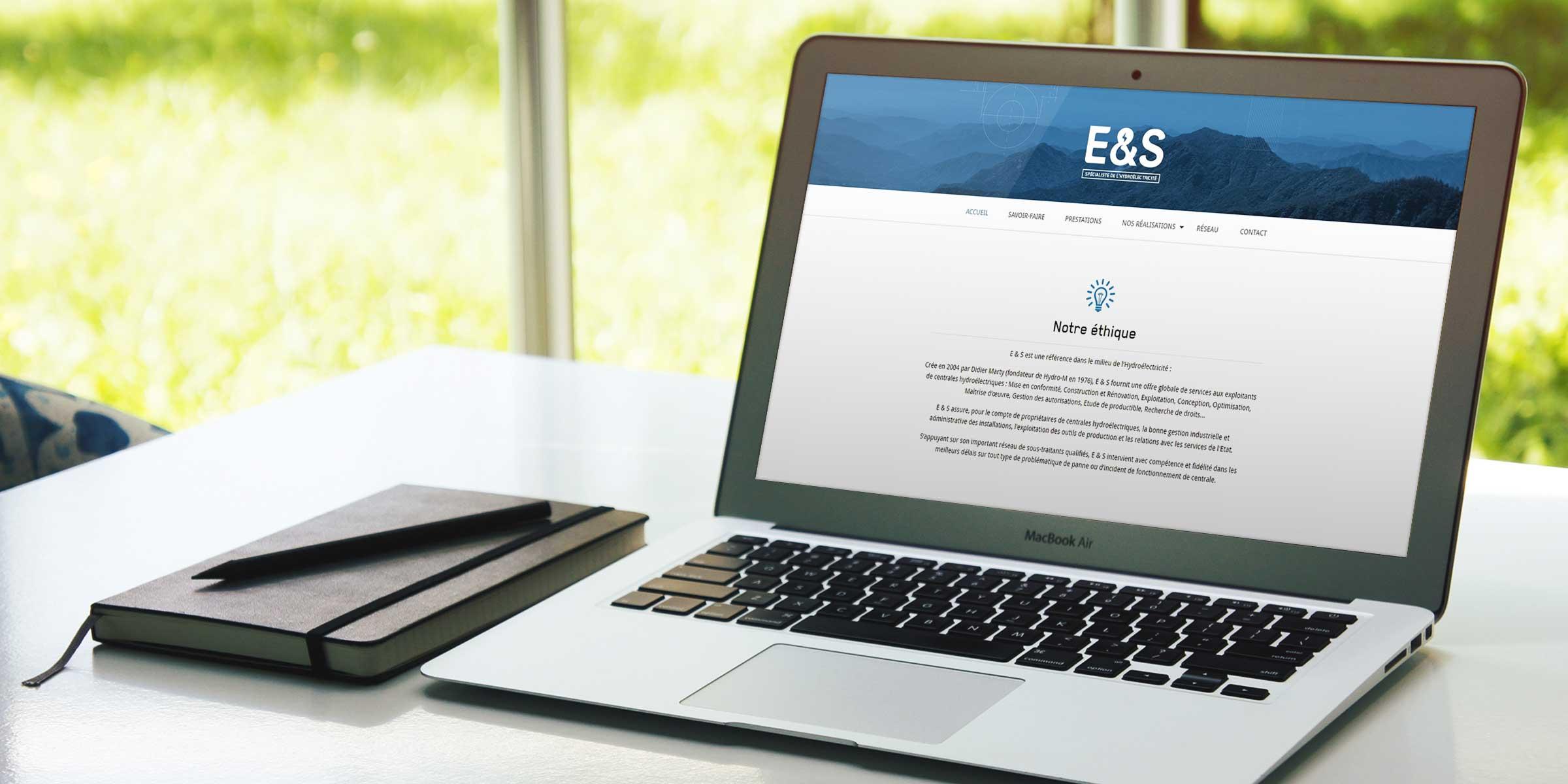 Responsive design web Toulouse E&S