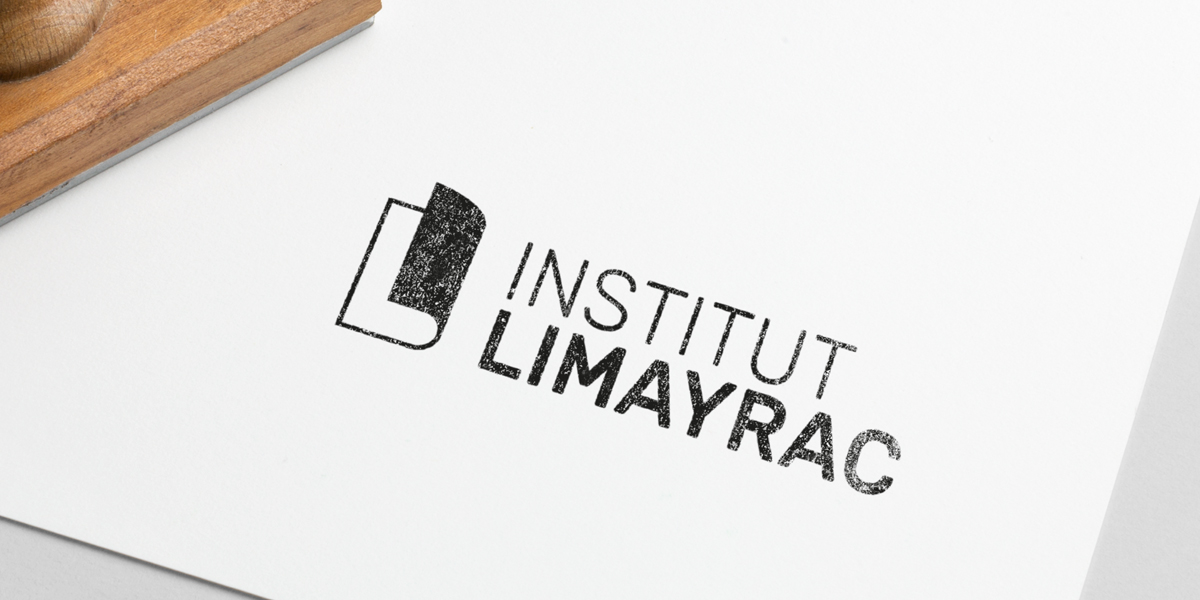 Tampon encreur logo Limayrac