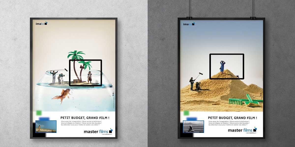 Master films publicité magazine