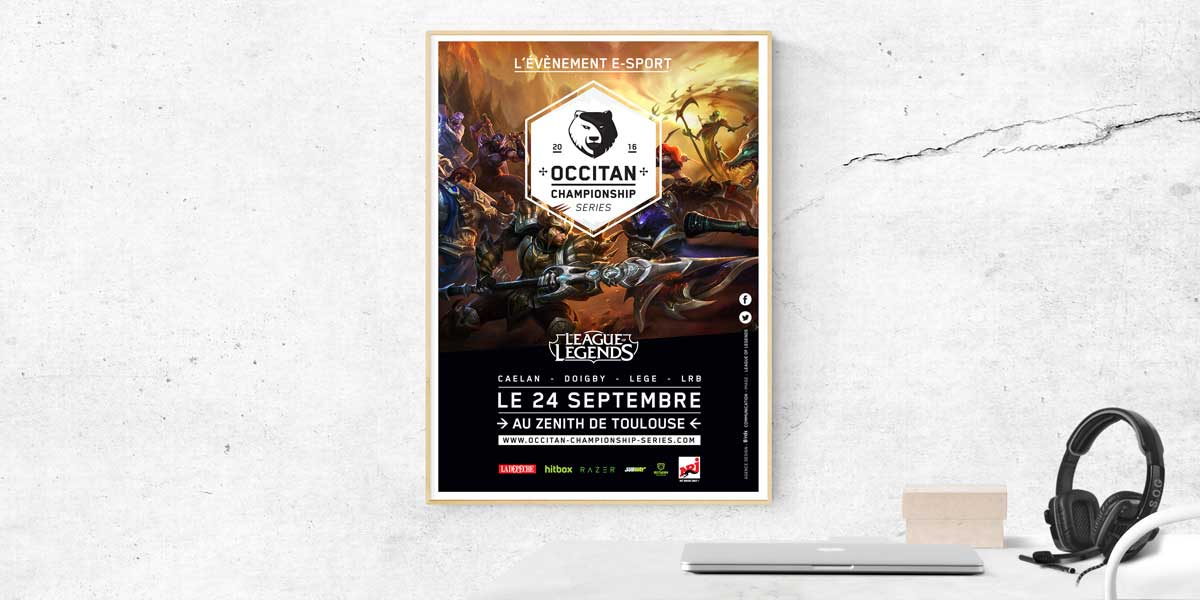Agence communication eSport Toulouse
