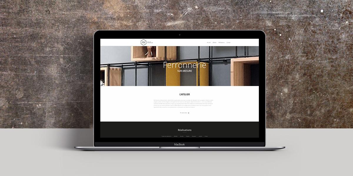 Graphisme web Atelier Verd Ferronnerieugaud
