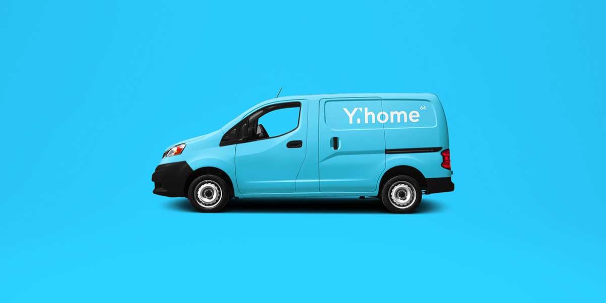 Habillage graphique camion logo